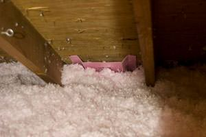New Insulation installed in Salisbury attic