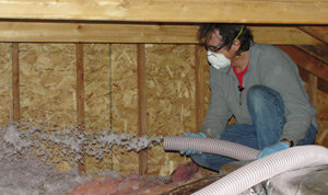Fiberglass insulation installed Delaware & E. Shore Maryland